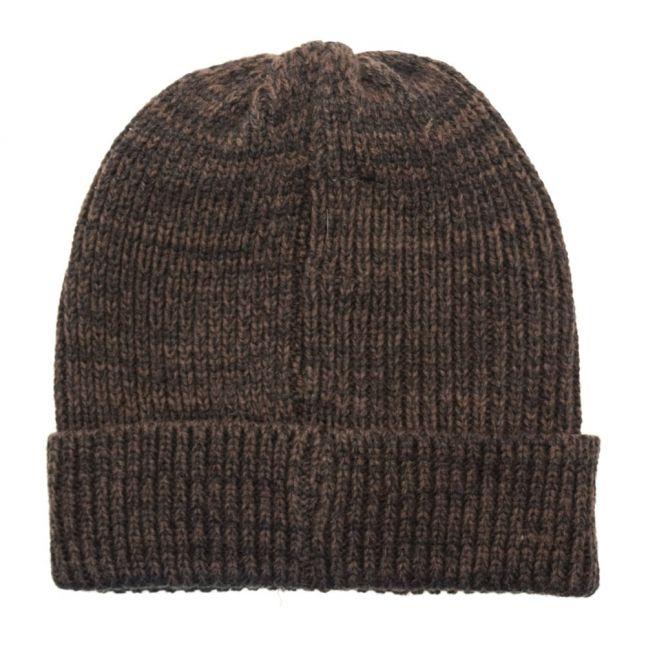 Mens Loden Green Black Label Badge Hat