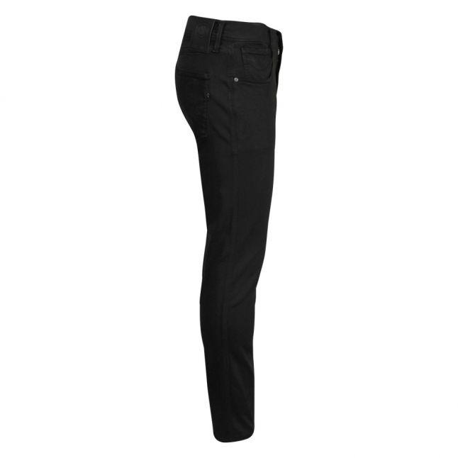 Mens Black Anbass Hyperflex Colour Slim Fit Jeans