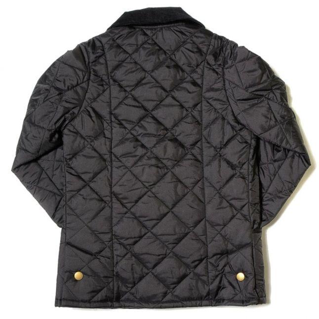 Boys Black Heritage Liddesdale Quilted Jacket