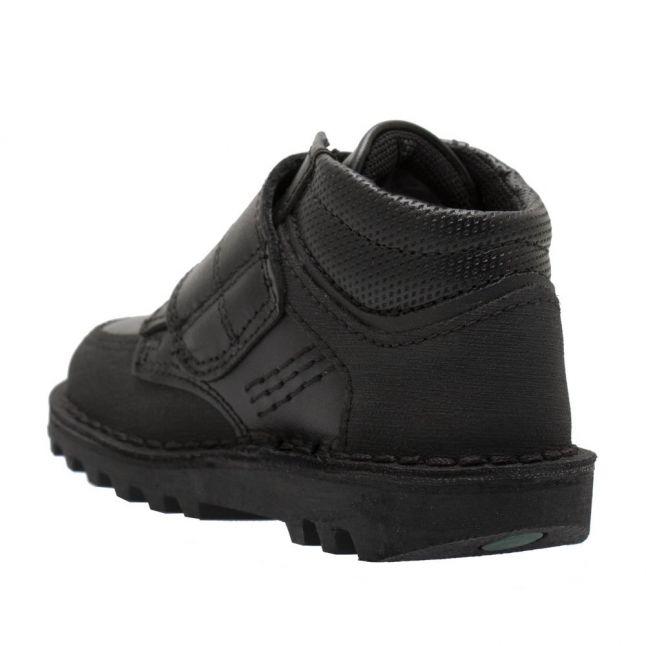 Infant Black Kick Mid Scuff Shoes (5-12)