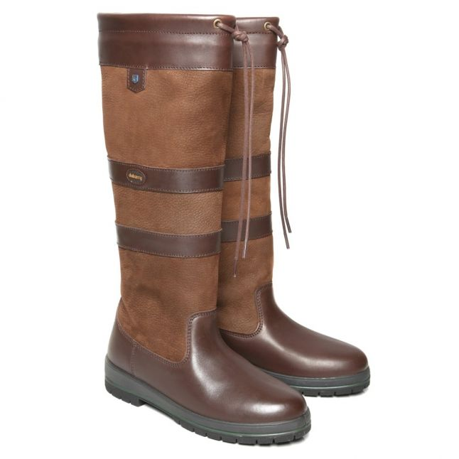 Womens Walnut Galway Boots