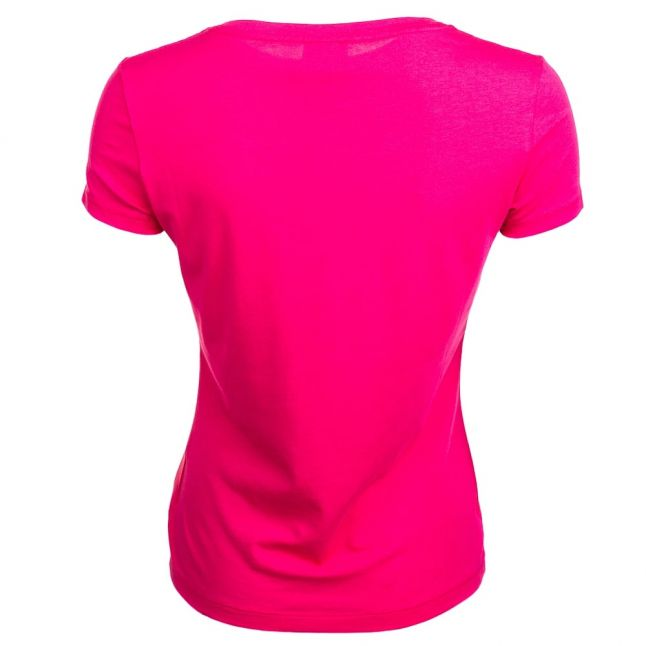 Womens Fuschia S/s Tee Shirt