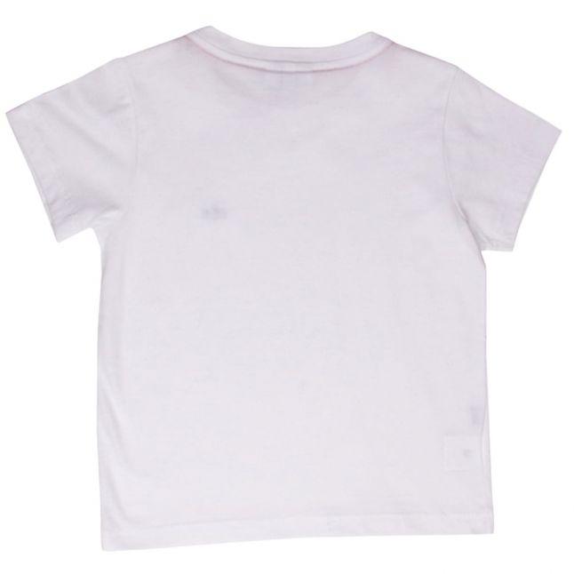 Boys White Classic S/s T Shirt