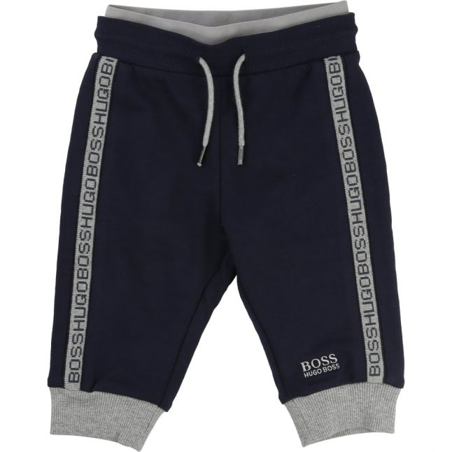 Baby Navy Branded Track Pants