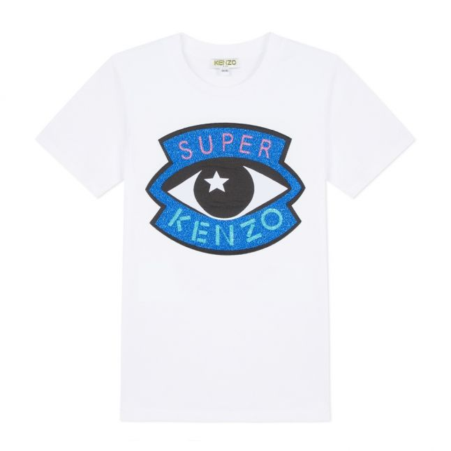 Junior Optic White Gisa Icon Eye S/s T Shirt