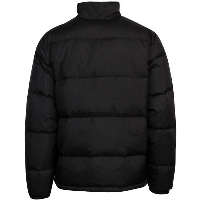 Mens Jet Black Fillmore Short Padded Jacket