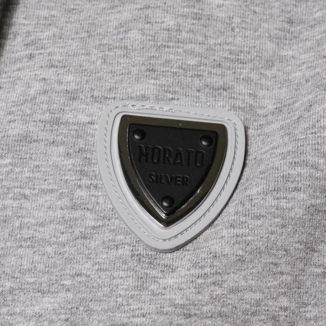 Mens Medium Grey Silver Label Gilet