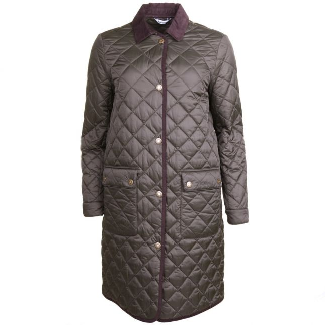 Heritage Womens Sage Quilted Border Jacket