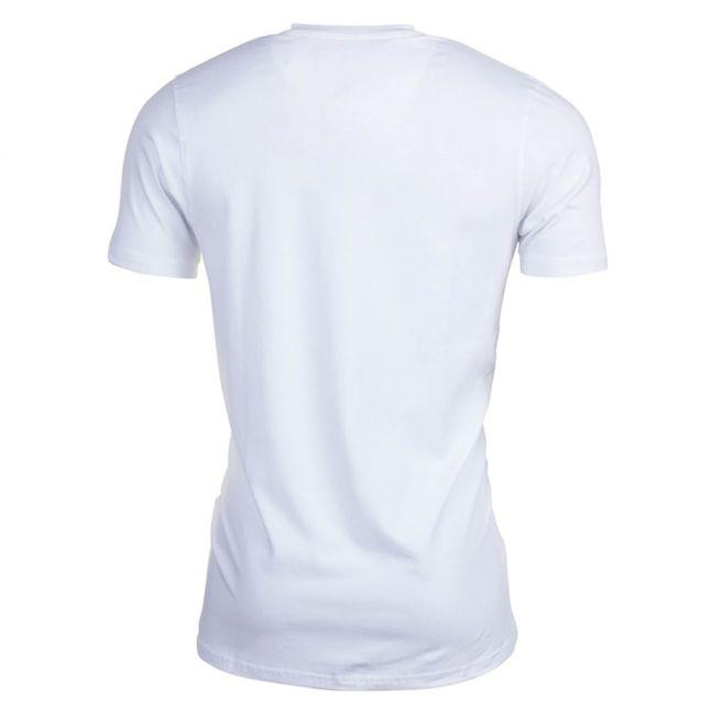 Mens White Moreno S/s Tee Shirt