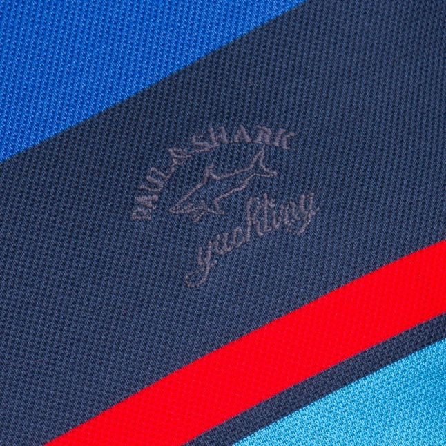 Paul & Shark Mens Assorted Branded Shark Fit S/s Polo Shirt