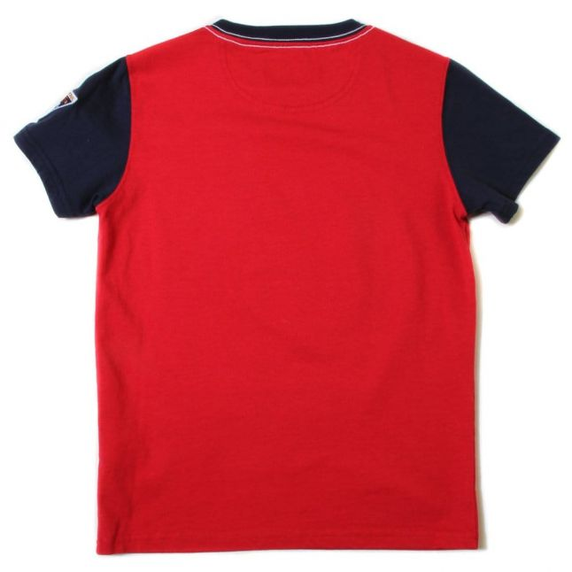 Boys Dress Blue Barbouretter S/s Tee Shirt