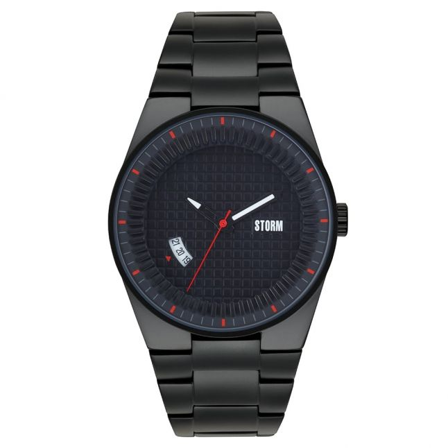 Mens Black Dial Darko Watch