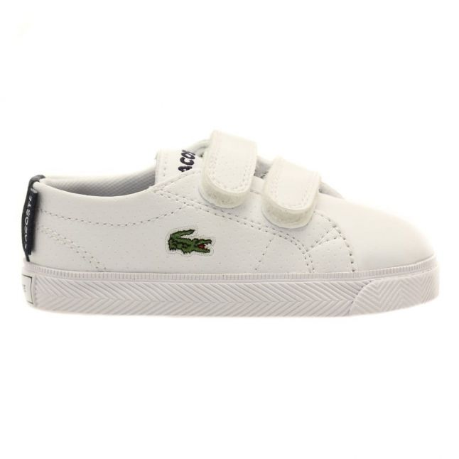 Infant White & Navy Marcel 116 Trainers (4-9)