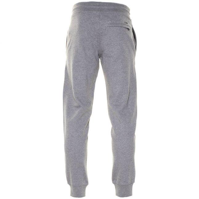 Mens Grey Melange Jog Pants