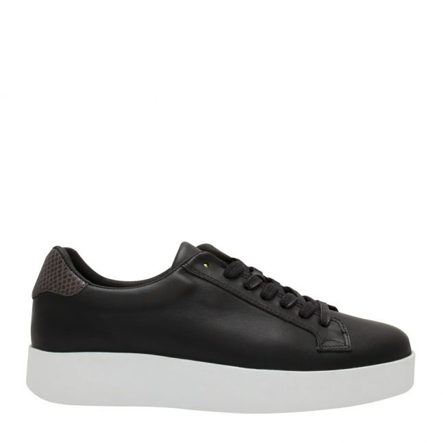 Womens Black Bianca Trainers