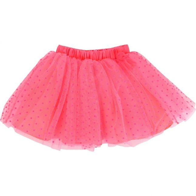Girls Pink Dot Tutu Skirt