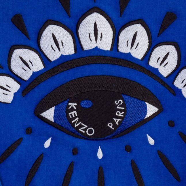 Girls Electric Blue Alexandrie Eye Sweat Top