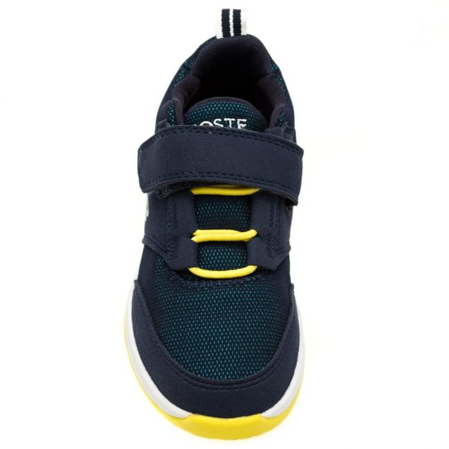 Child Green & Navy L.ight Trainers (10-1)