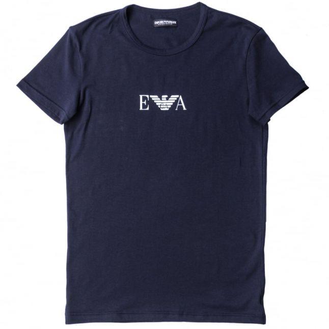 Mens Marine Chest Logo Crew S/s Tee Shirt