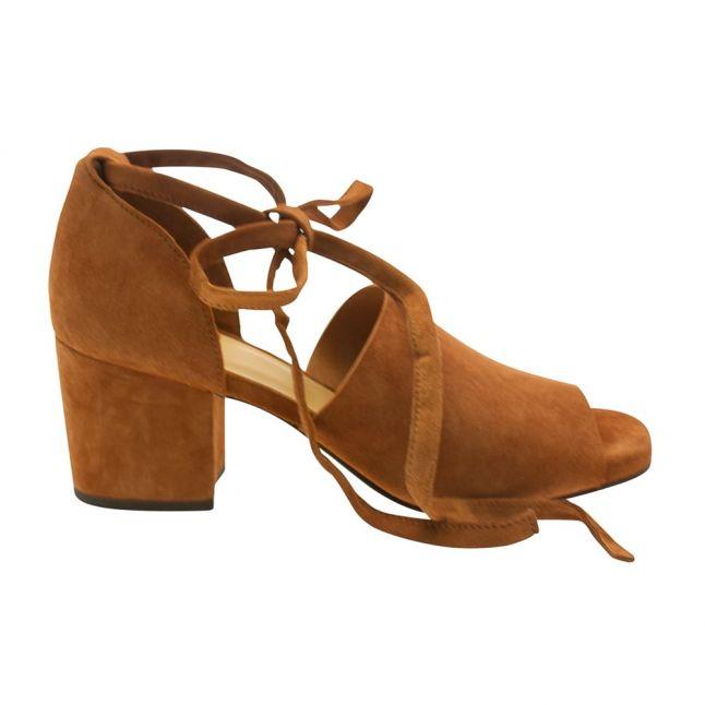 Womens Tan Metta Suede Shoe