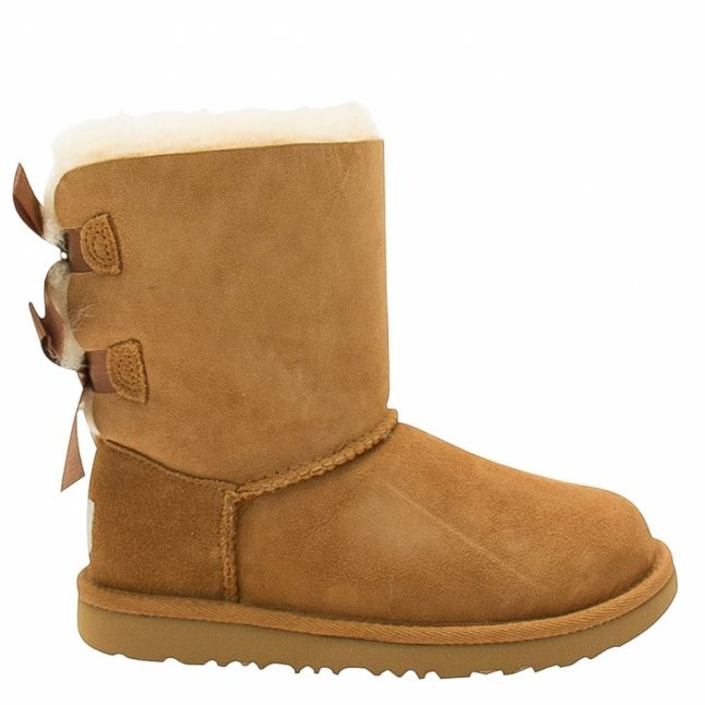 Kids Chestnut Bailey Bow II Boots (12-3)