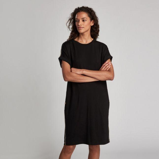 Womens Black Axel Dress