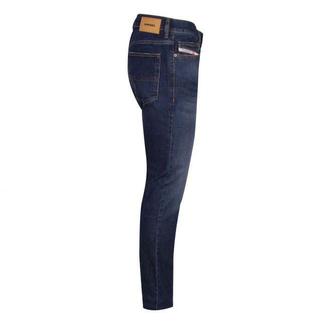 Mens 009EL Wash D-Luster Slim Fit Jeans