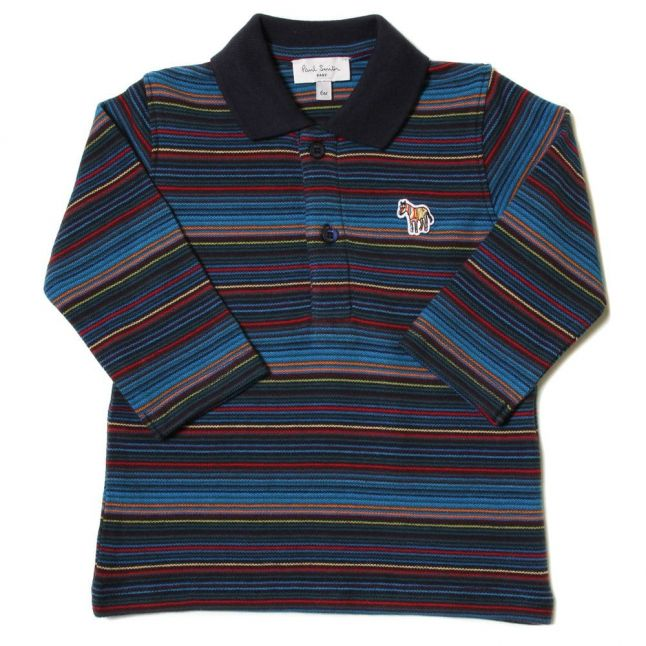 Baby Dark Navy Jaffa L/s Polo Shirt