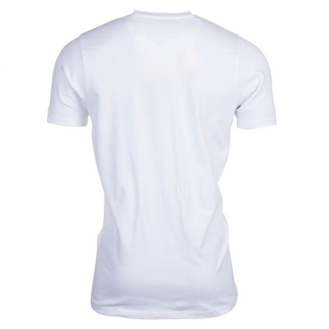 Mens White Tete 2 S/s Tee Shirt