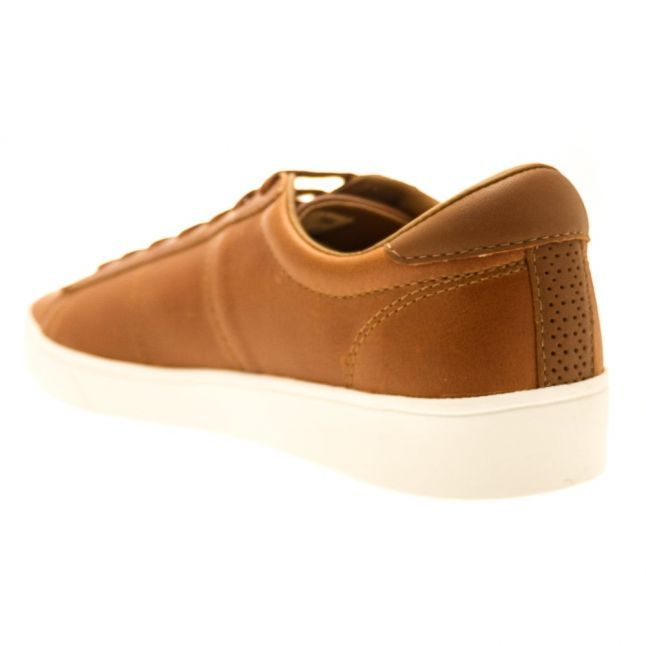 Mens Tan Spencer Leather Trainer