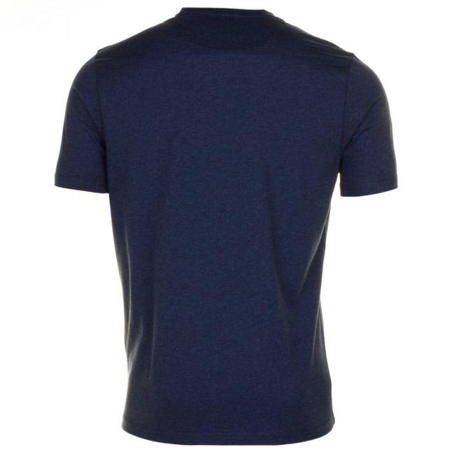 Mens Yale Deny Marl Crew S/s Tee Shirt