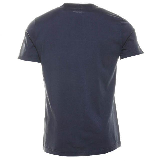 Mens Navy Crowd S/s Tee Shirt