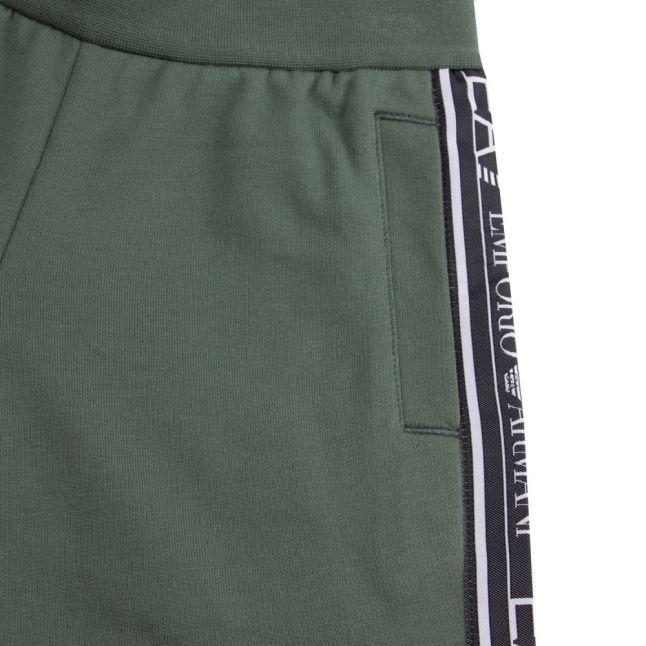 Boys Dark Forest Train Graphic Tape Sweat Shorts