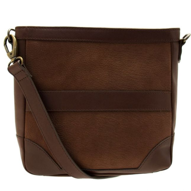 Womens Walnut Admore Messenger Bag