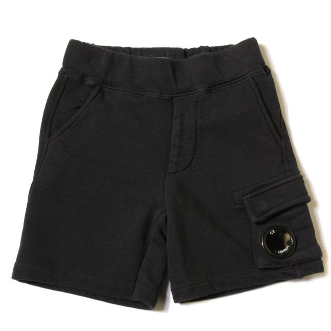 Boys Navy Portal Sweat Shorts