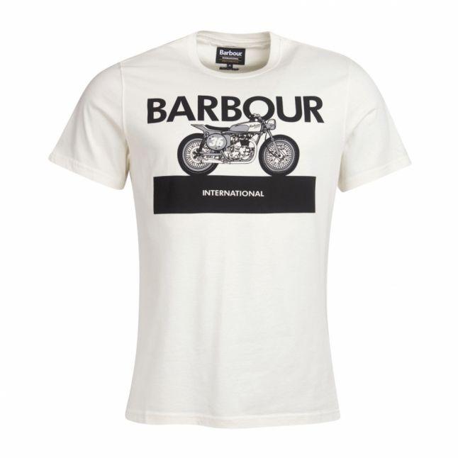 Mens Whisper White Rider S/s T Shirt