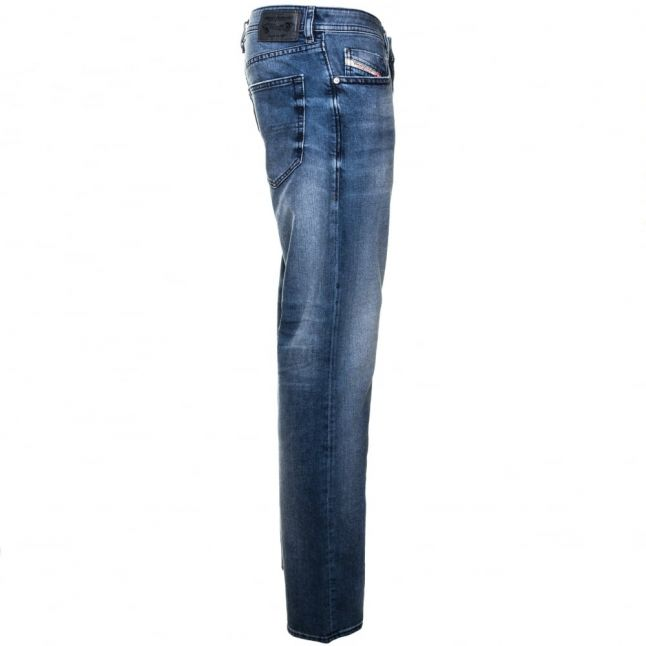 Mens 0853p Wash Buster Regular Slim Tapered Jeans