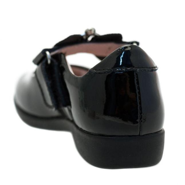 Girls Black Patent Sophia Strap E-Fit Shoes