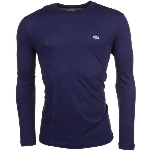 Mens Navy Classic L/s Tee Shirt