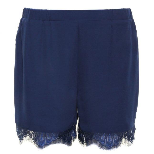 Womens Insignia Blue Yasinsigma Lace Shorts