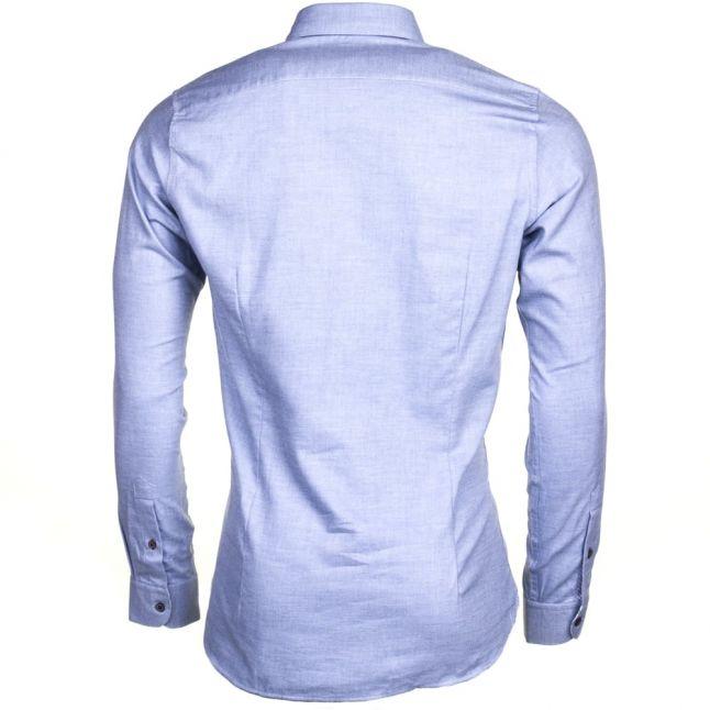 Mens Light Blue Joeseph Flannel L/s Shirt