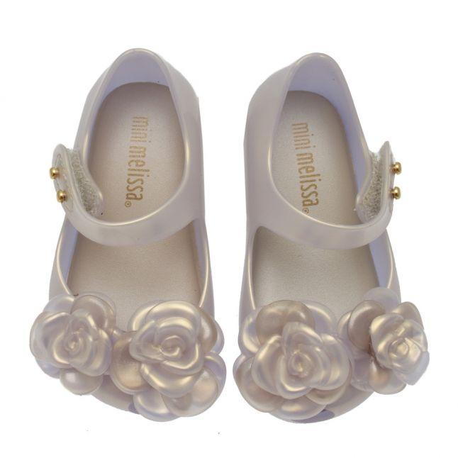 Girls Iridescent Mini Ultragirl Flower Shoes (4-9)