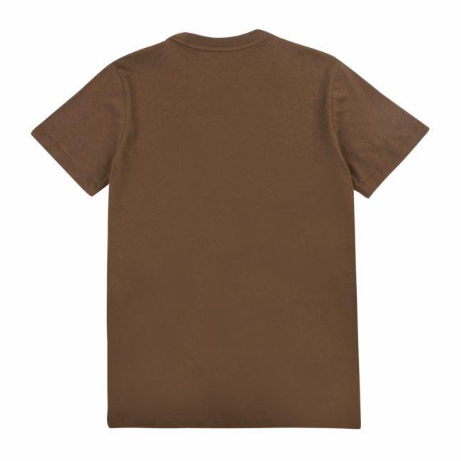 Boys Khaki Circle Eagle S/s T Shirt