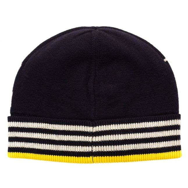 Boys Blue Branded Knitted Hat