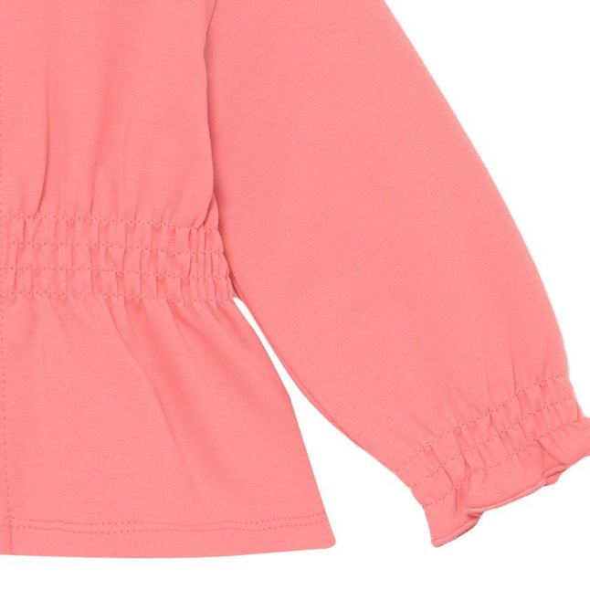 Infant Flamingo Elastic Waist Hooded Sweat Top