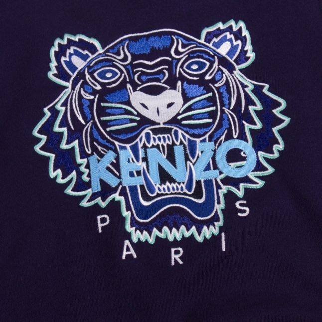 Junior Navy Tiger Sweat Top