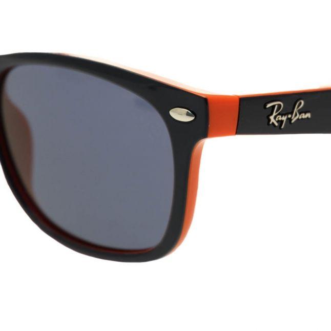 Junior Top Blue On Orange RJ9052S Wayfarer Sunglasses