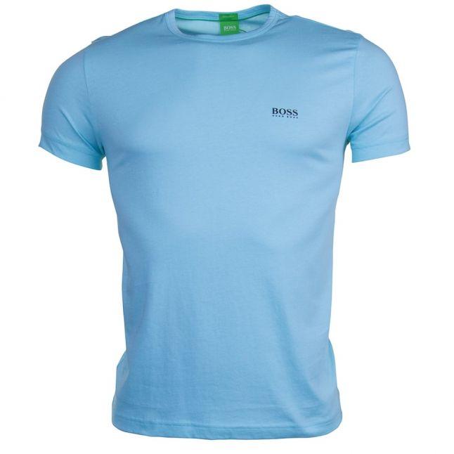 Mens Open Blue S/s Tee Shirt