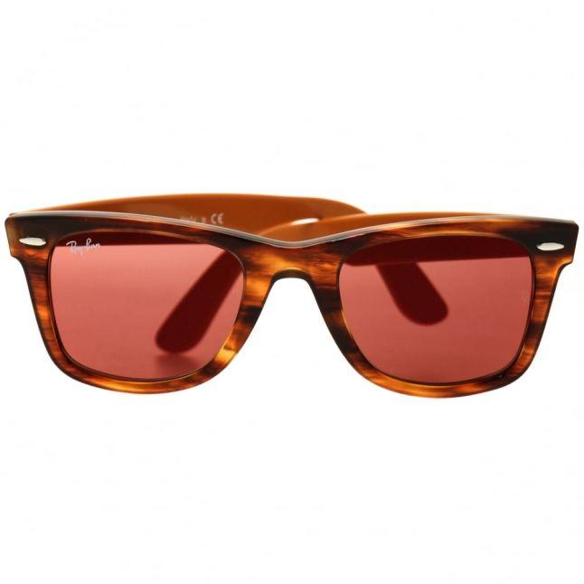 Havana RB2140 Wayfarer Pixel Sunglasses