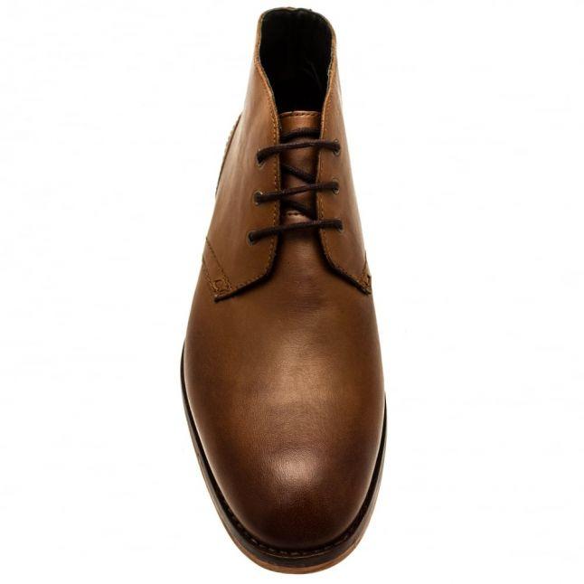 H By Hudson Mens Tan Houghton 2 Chukka Boots